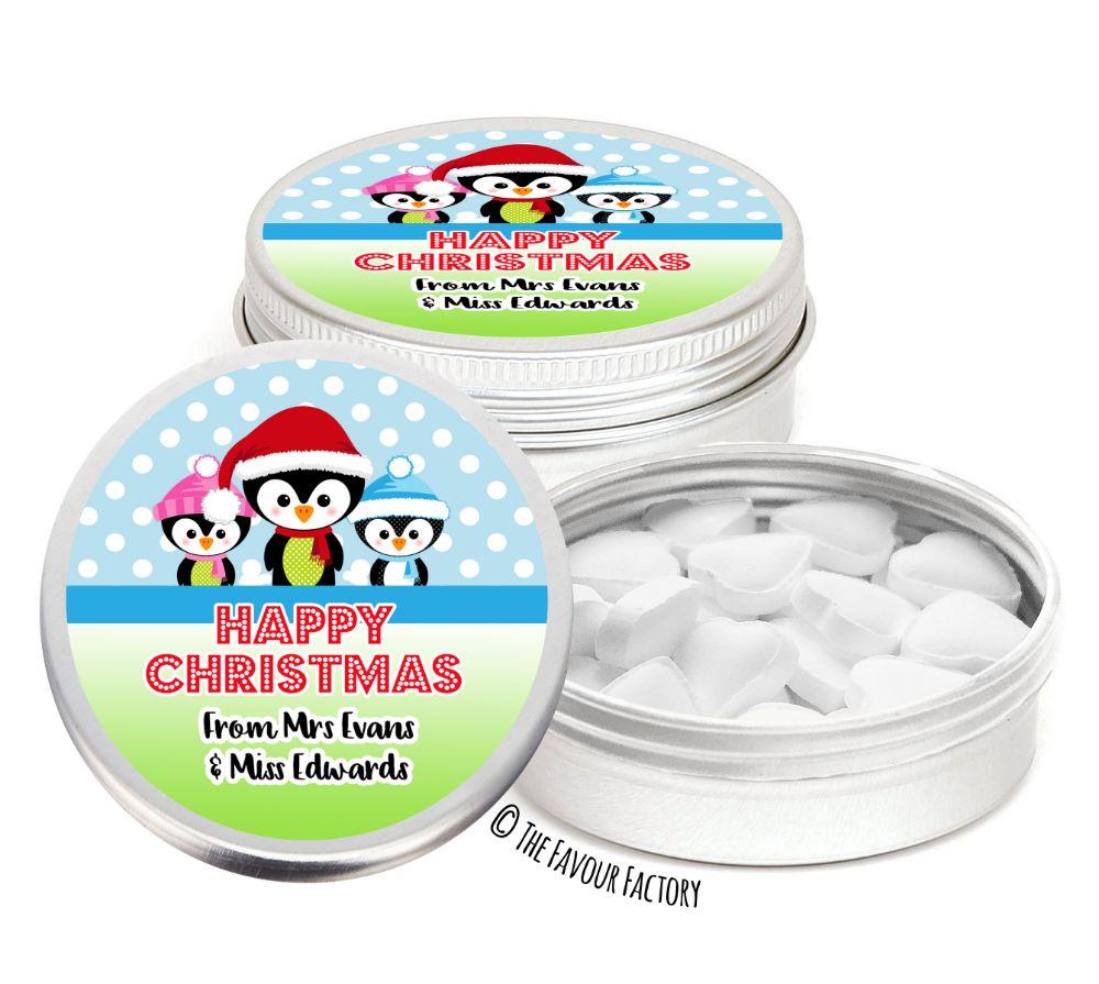 Christmas Favour Tins