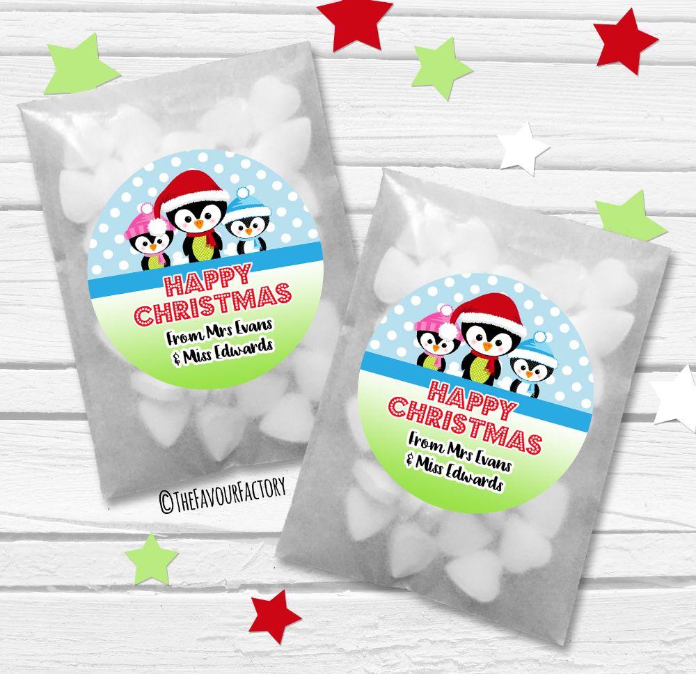 Christmas Paper Favour Bags