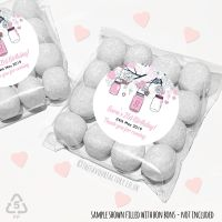 Adult Birthday Party Favours Sweet Bags Kits Mason Jars x 12
