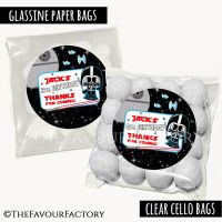 Kids Party Favours Sweet Bags Kits Star Wars Darth x12