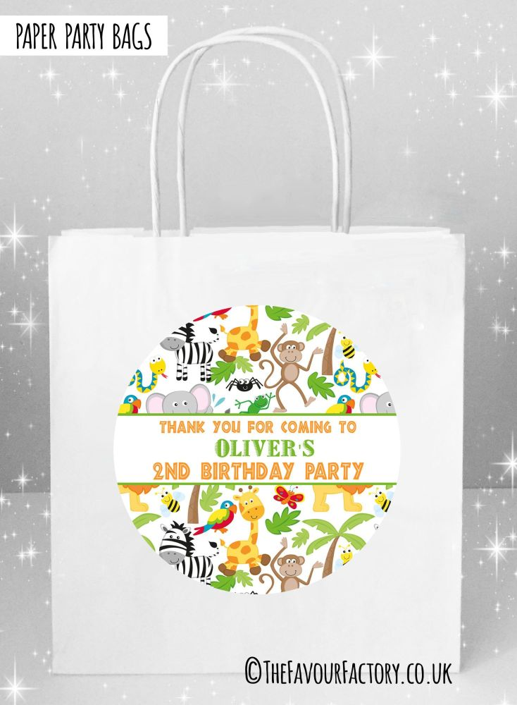 Animal Madness Kids Party Bags x1