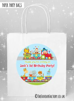 Kids Party Bags Birthday Train x5