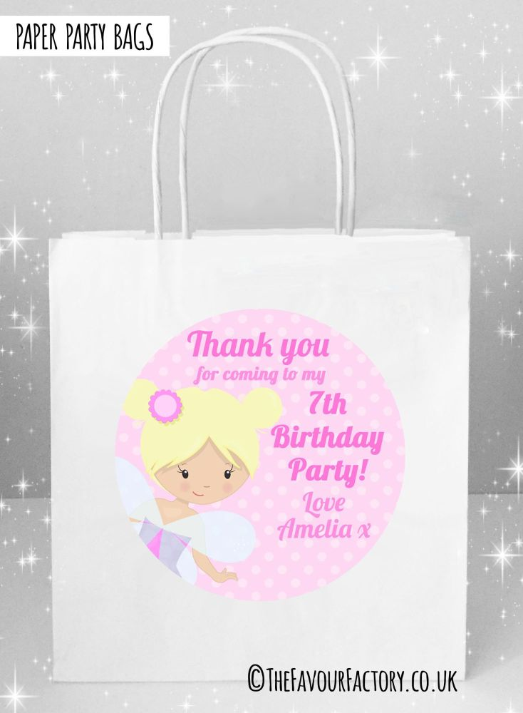 Kids Party Bags Fairy x1