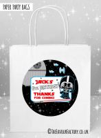 Kids Party Bags Party Star Wars Inspired Dress Up Darth x1