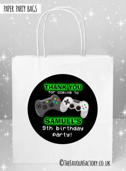 Kids Party Bags Gaming x5