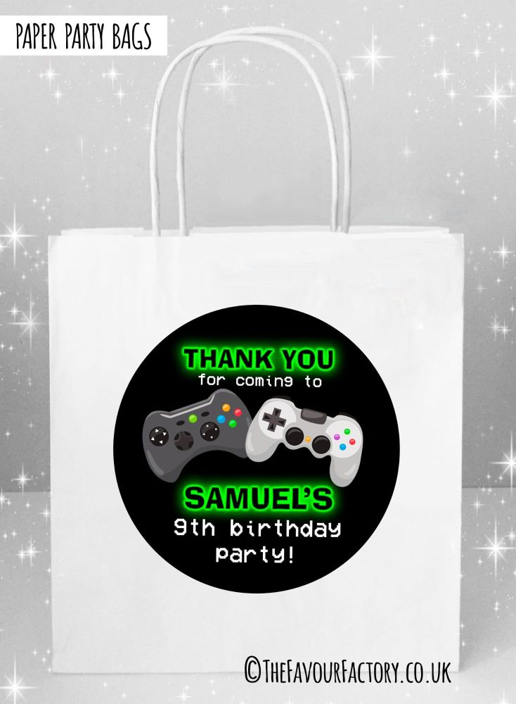 Kids Party Bags Gaming x1