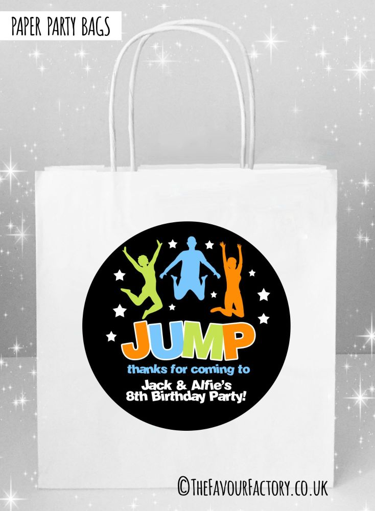 Kids Party Bags Party Jump Trampoline x1