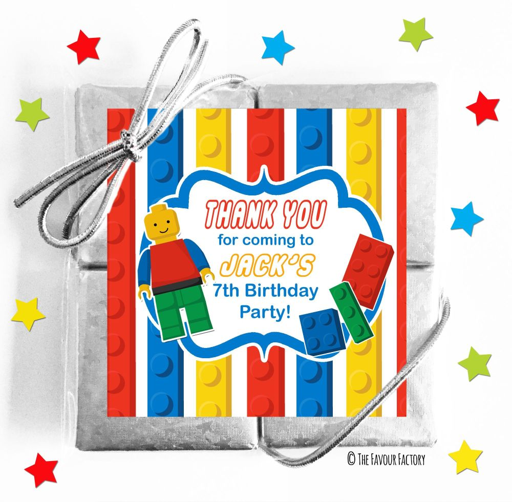 Lego Kids Party Chocolate Quads