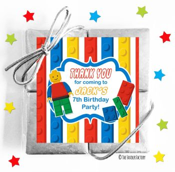 Kids Party Chocolate Quads Favours Lego x1