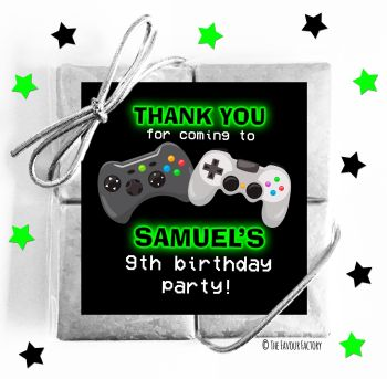 Kids Party Chocolate Quads Favours Gaming x1