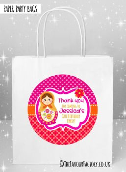Kids Party Bags Matryoshka Doll x1
