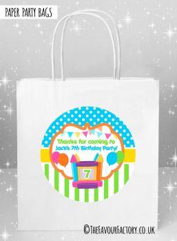 Kids Party Bags Bouncy Castle x1