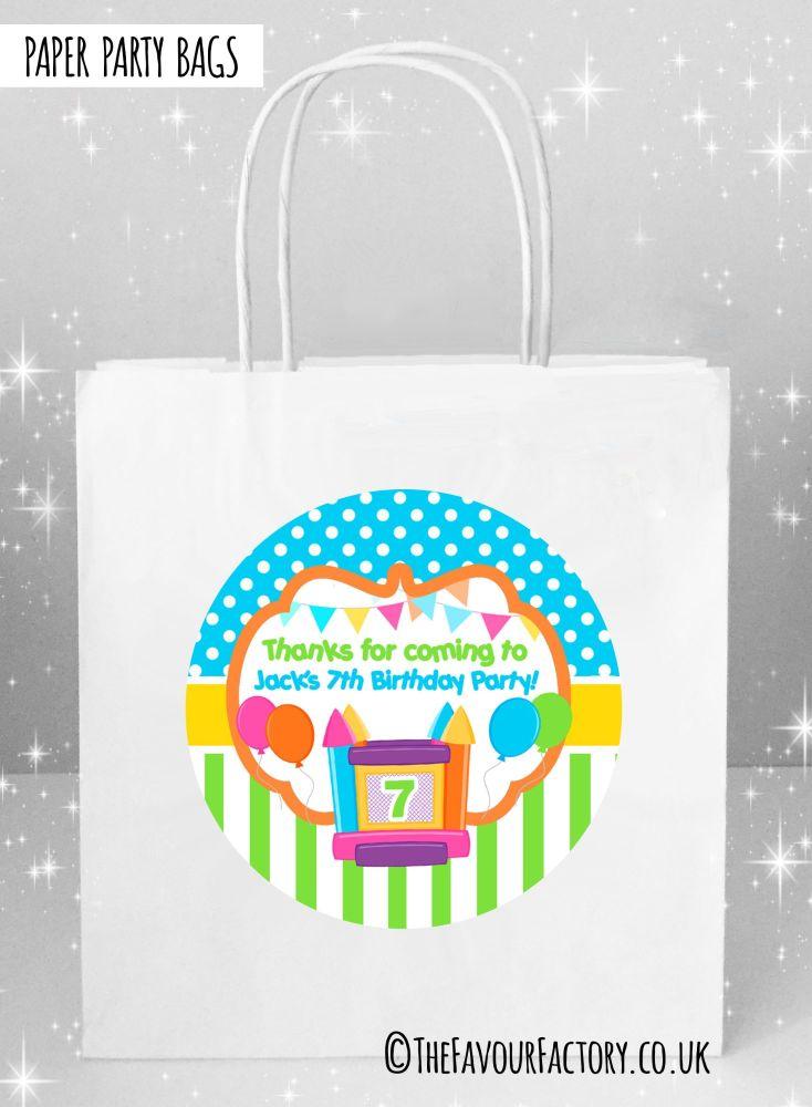Bouncy Castle Kids Party Bags x1