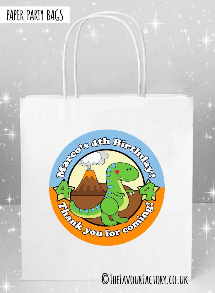 Cute Dinosaur Kids Party Bags x1