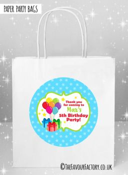 Kids Party Bags Bunch of Balloons x5