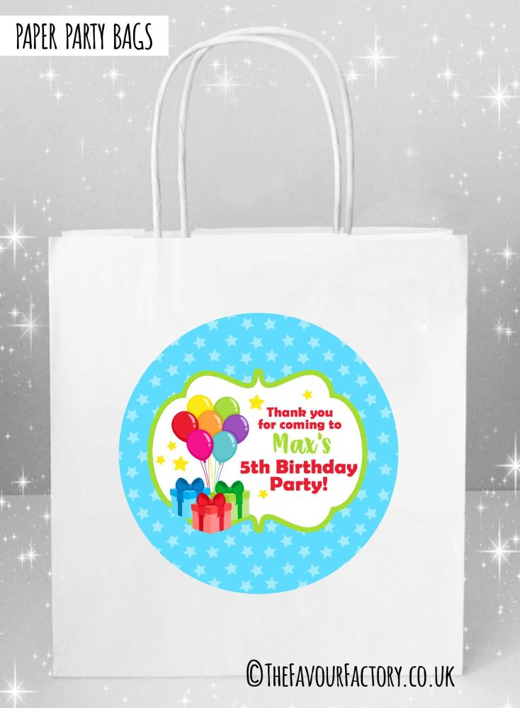 Kids Party Bags Bunch of Balloons x1