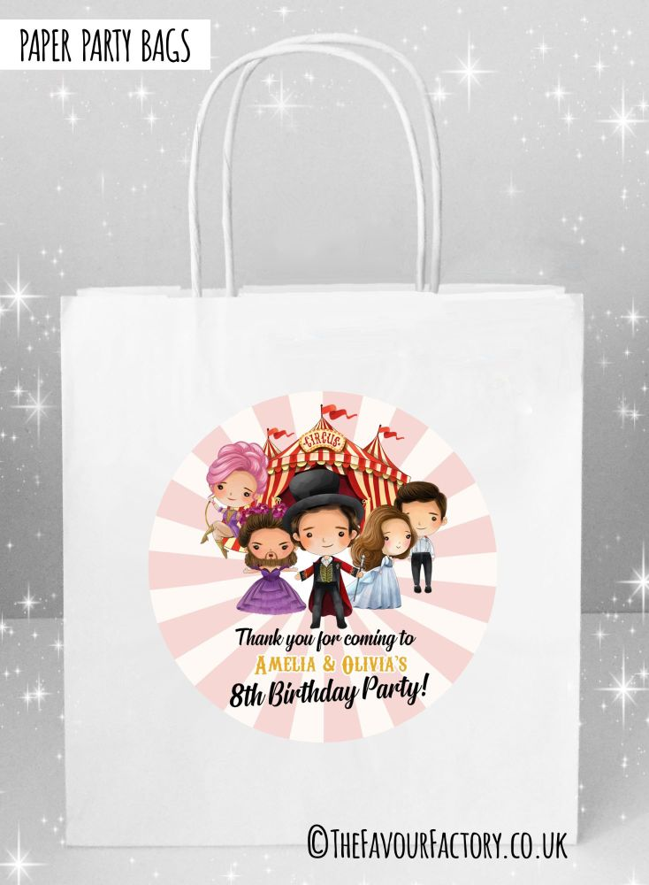 Kids Party Bags Greatest Showman x1