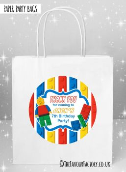 Kids Party Bags Lego x5