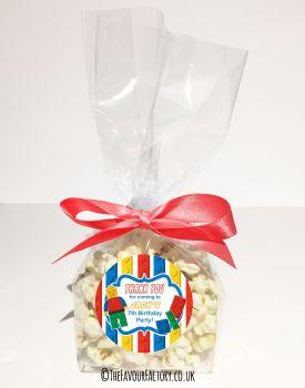 Kids Party Popcorn Treat Bags Kits  x12