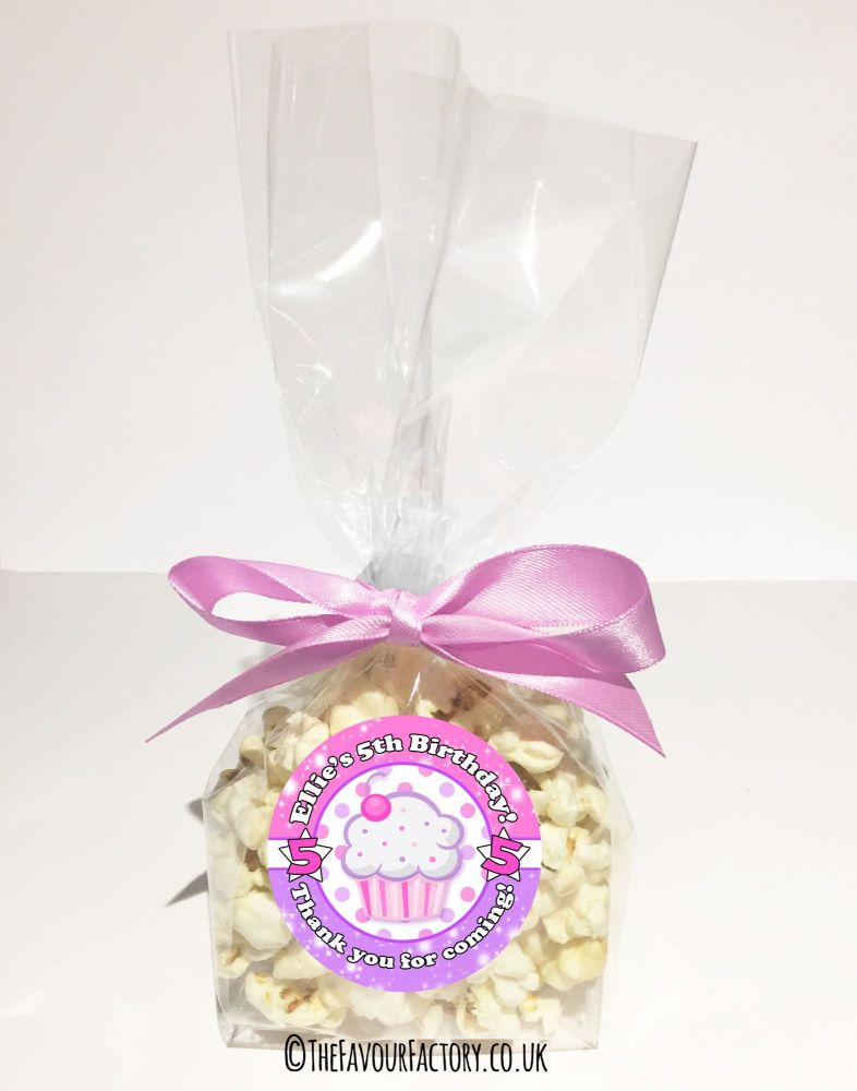 Kids Party Goody Bags Kits Cupcake x12