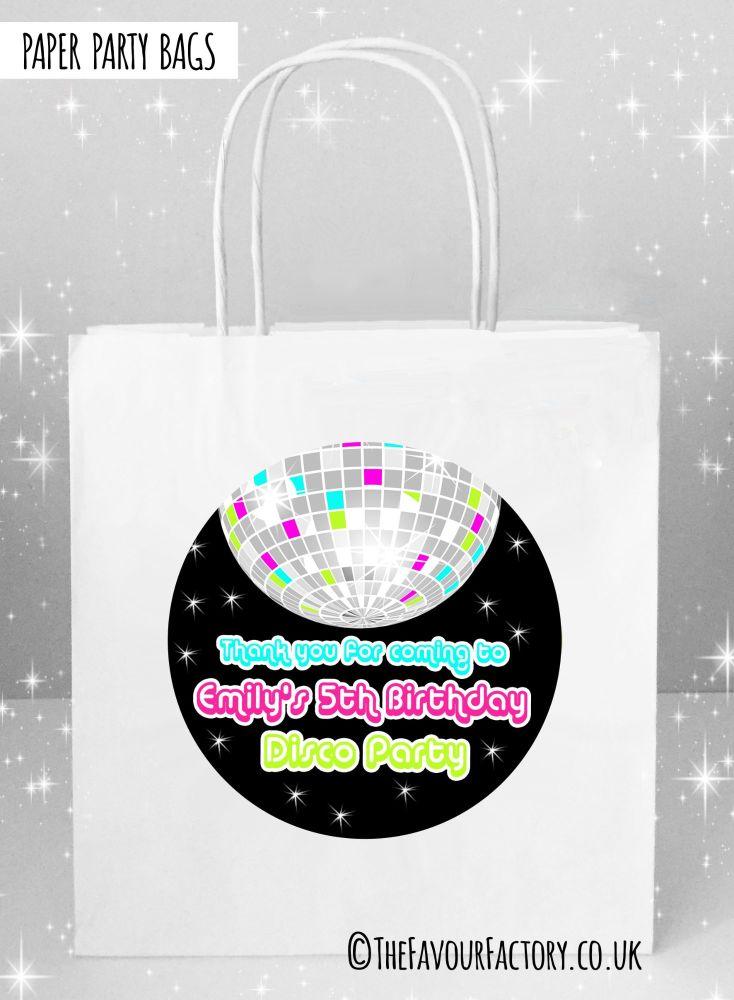 Kids Party Bags Retro Disco x1