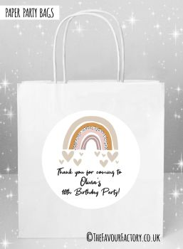 Kids Party Bags Scandi Rainbow x5