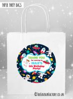 Kids Party Bags Space Theme x1