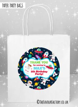 Kids Party Bags Space Theme x5