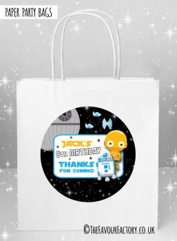 Kids Party Bags Star Wars C3PO x5