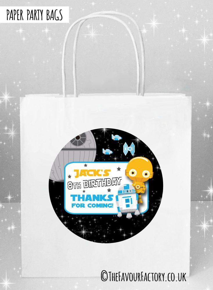 Kids Party Bags Star Wars C3PO x1