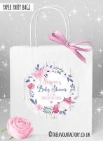 Baby Shower Party Bags Midnight Rose x1