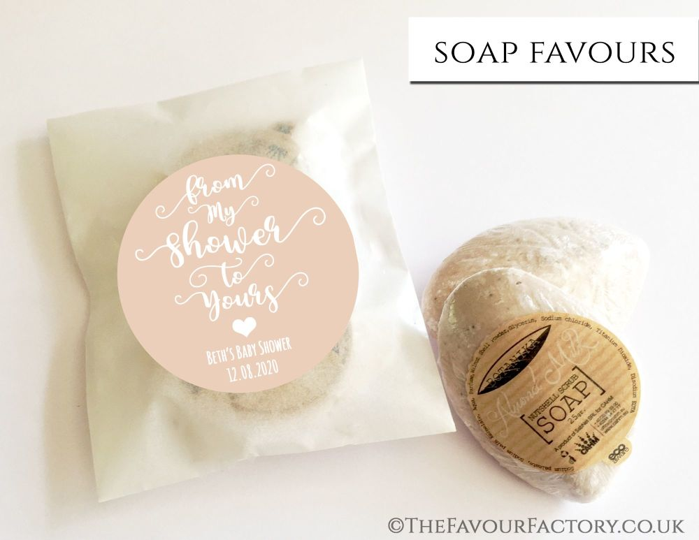 Baby Shower Soap Favours From My Shower To Yours Beige x1