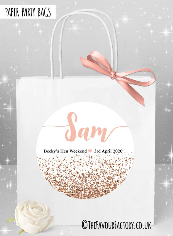Named Hen Party Bags