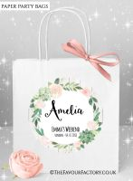 Succulents Hen Party Bags Named x1
