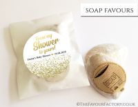 Baby Shower Soap Favours From My Shower To Yours Glitter Gold x1