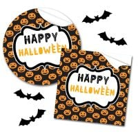 Halloween Stickers Pumpkin Faces