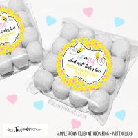 Gender Reveal Sweet Bags Kits What Will Baby Bee x12