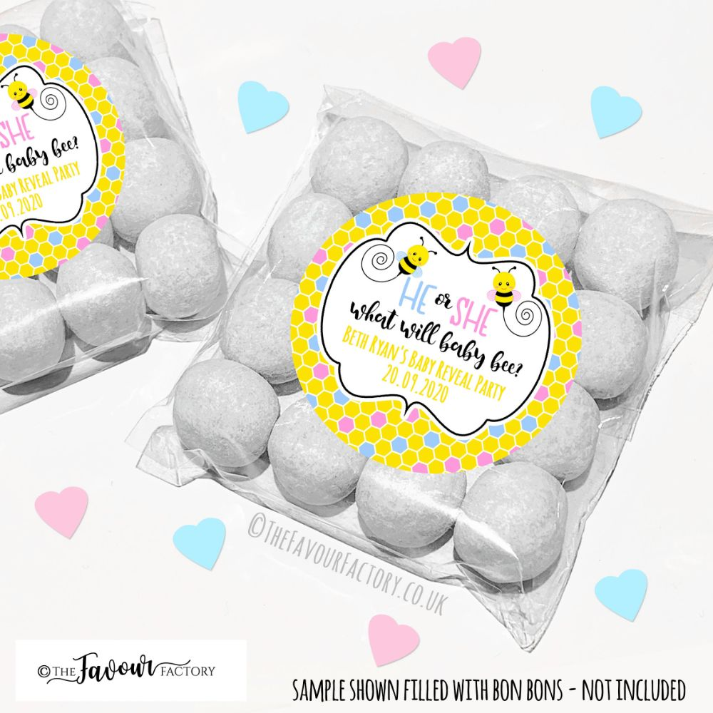 Gender Reveal Party Favours