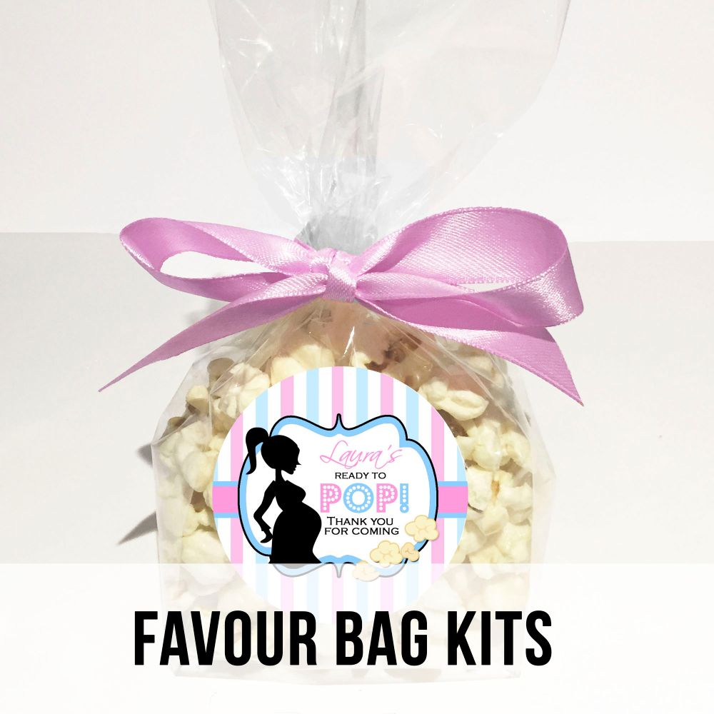 Personalised Baby Shower Favour Bags