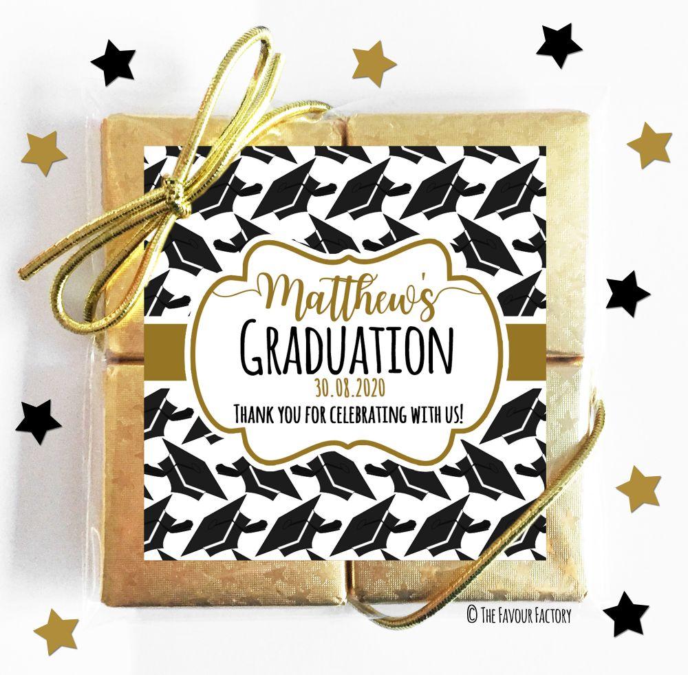 Graduation Chocolate Quads
