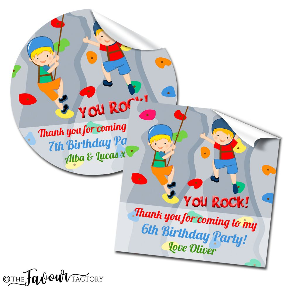 Kids Party Stickers