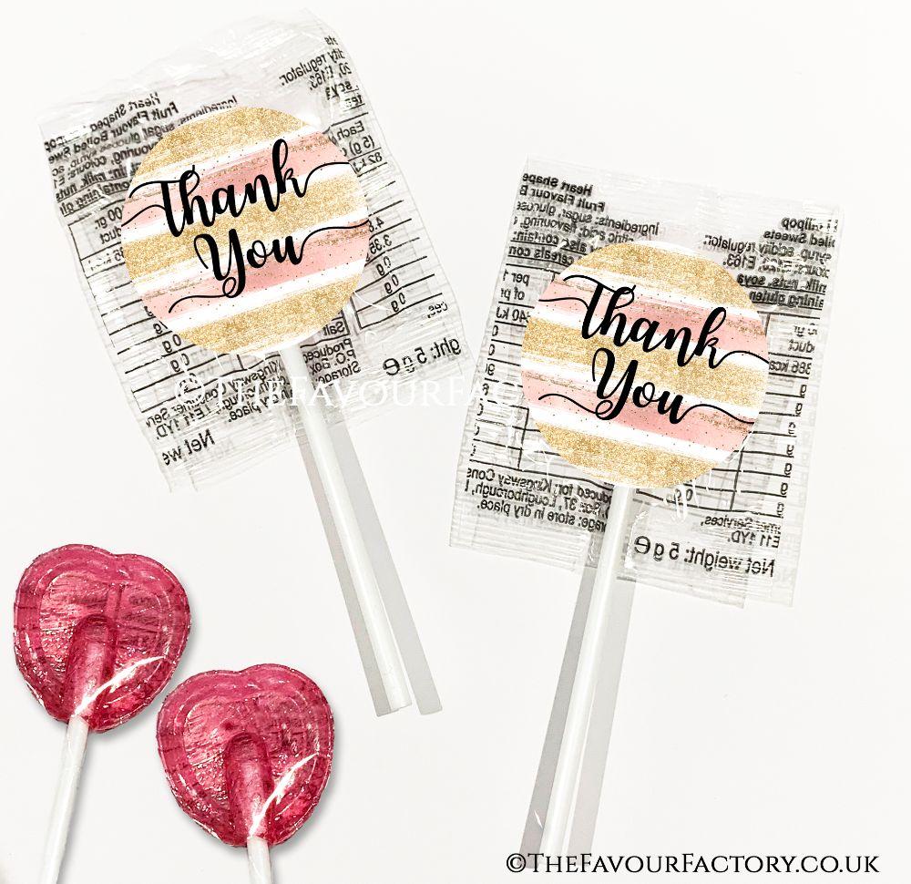 Thank You Lollipops