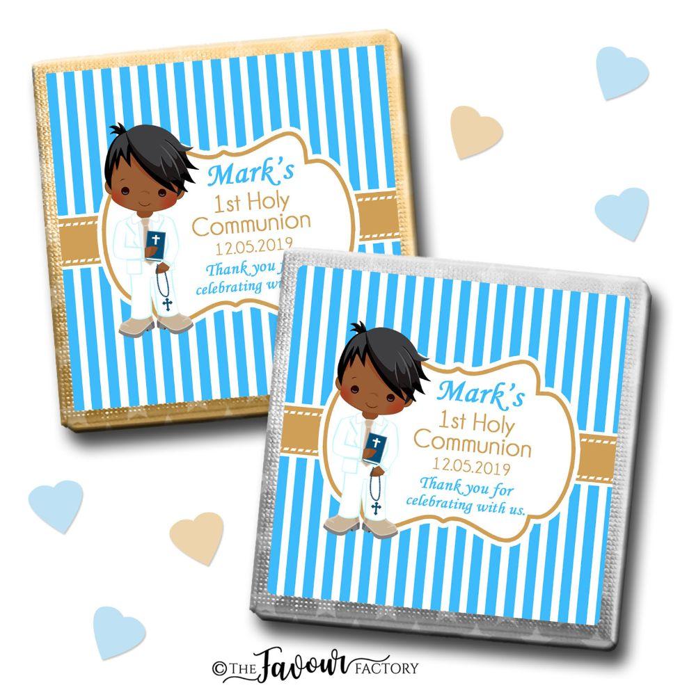Personalised Communion Chocolates