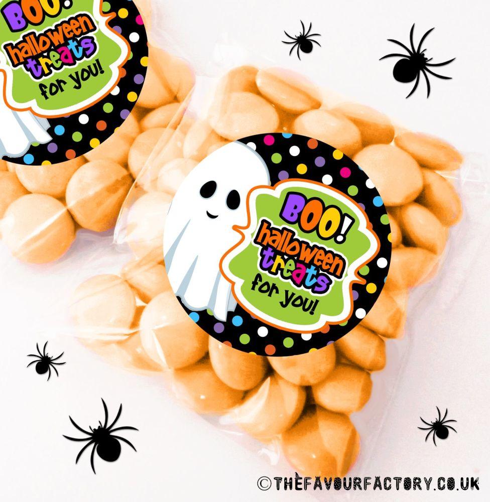Halloween Sweet Bags Boo Treats x12