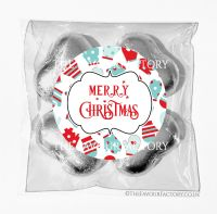 Personalised Christmas Chocolates Bags Mittens