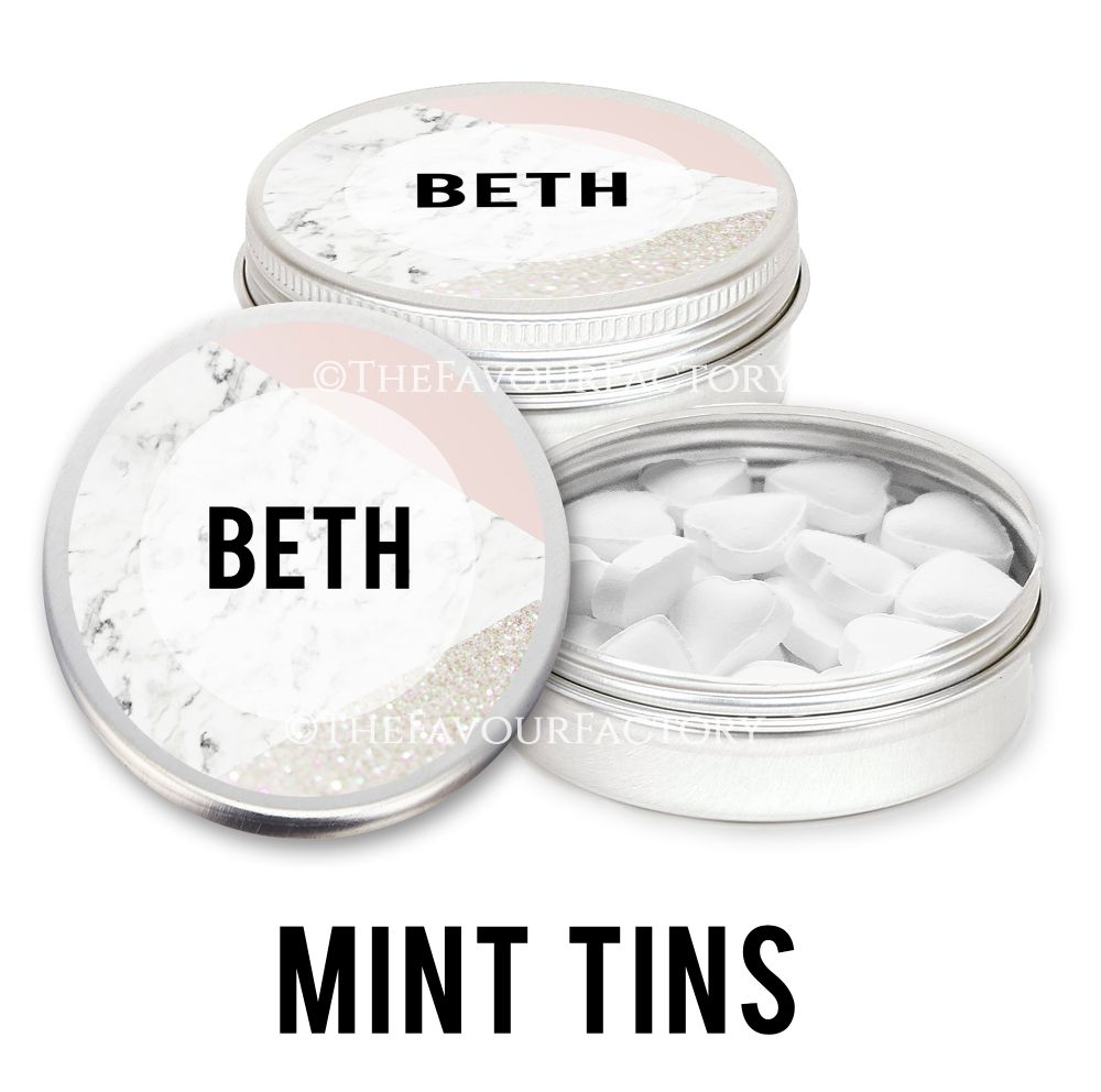 Personalised Mint Tins