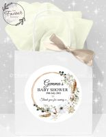 Baby Shower Party Bags Bohemian Wreath x1