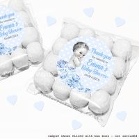 Baby Shower Sweet Bags Kits Vintage Baby Boy x12