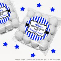 Adult Birthday Sweet Bags Kits Stripes x12