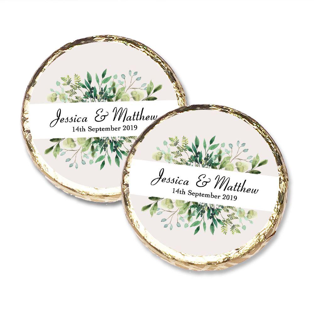 Wedding Mint Chocolates